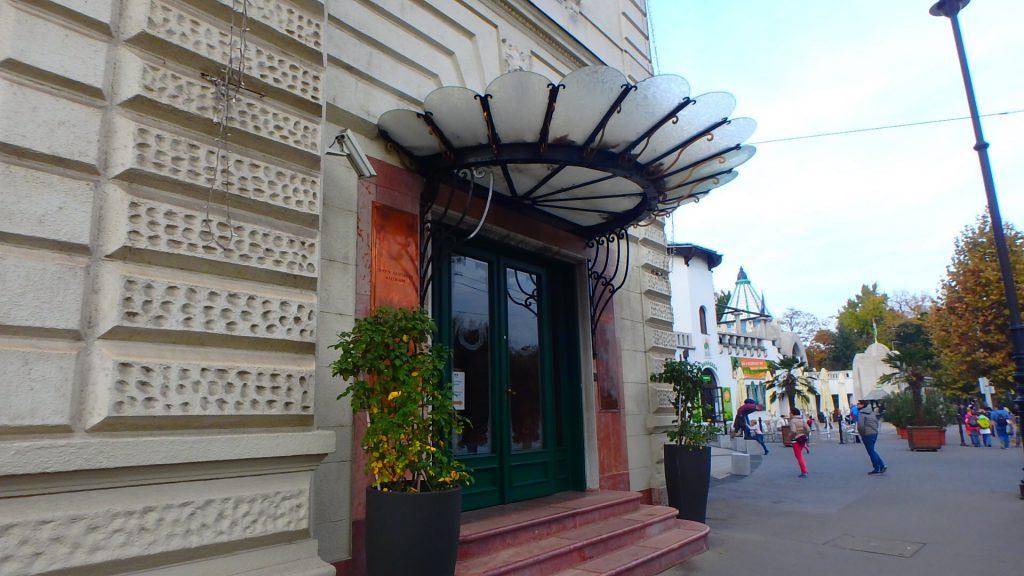 ハンガリーの最高級レストラン グンデル 旅行記ブログ