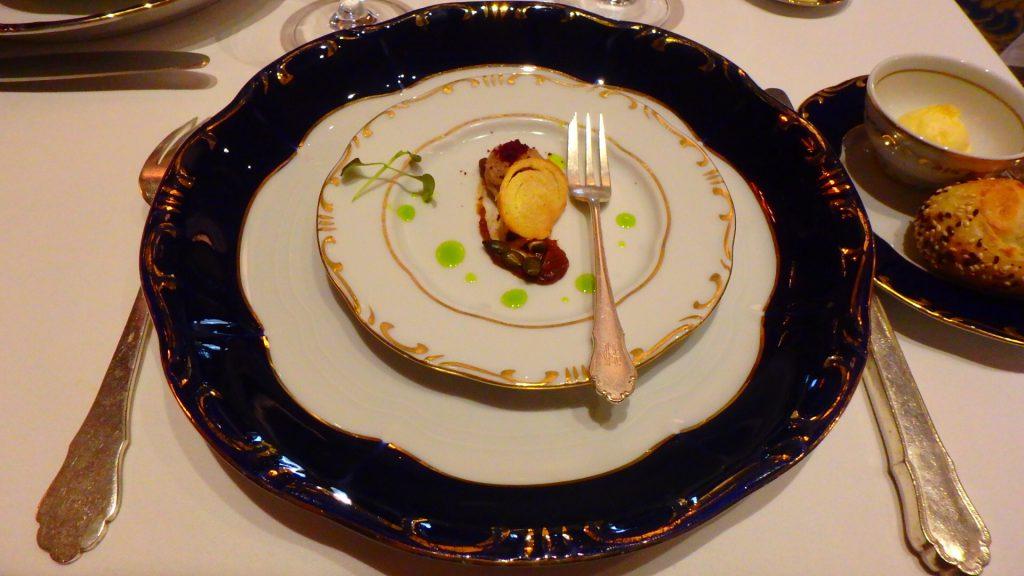 ハンガリーの高級レストラン グンデルのランチ