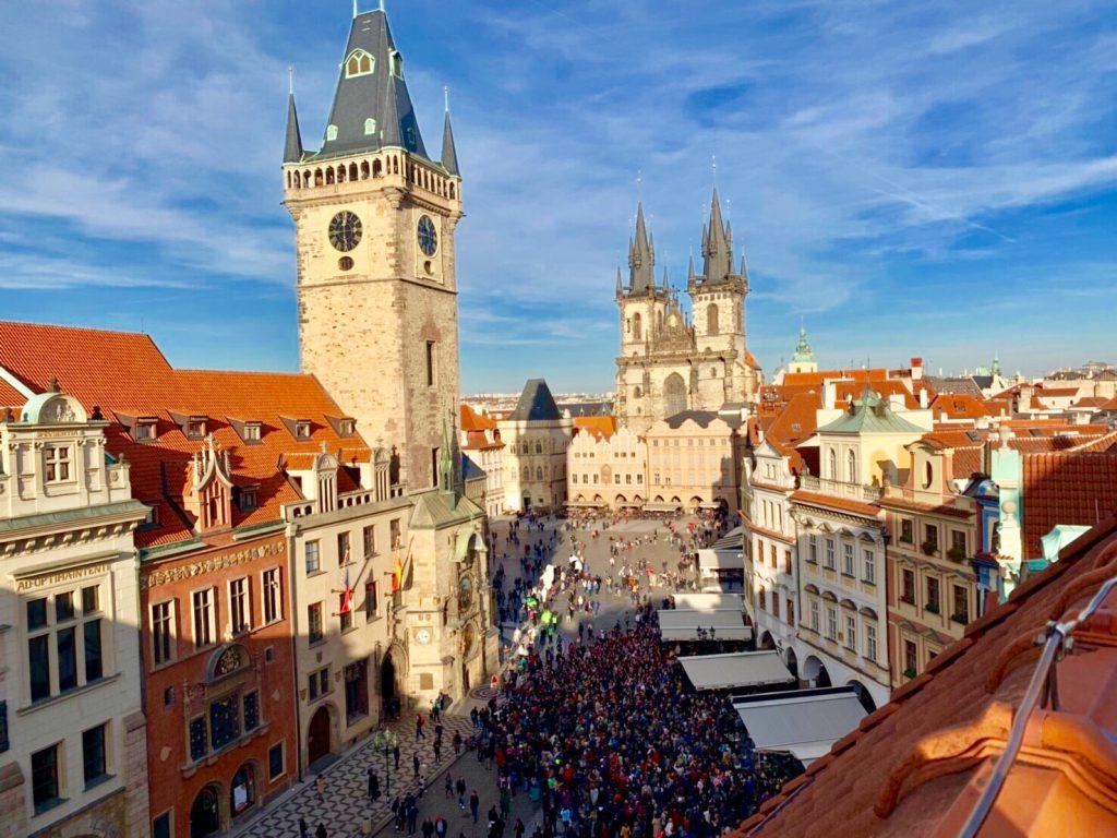 プラハ 旧市街広場 観光 ブログ