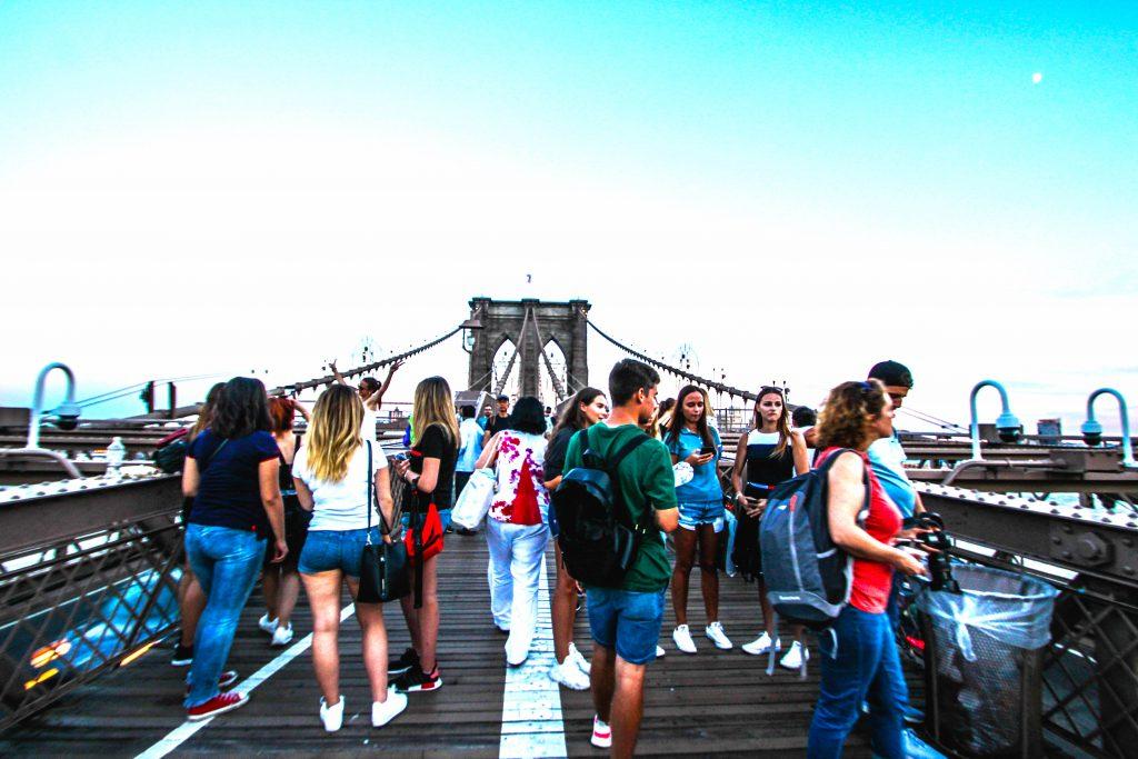 ニューヨークのフォトジェニックなスポット BROOKLYN BRIDGE