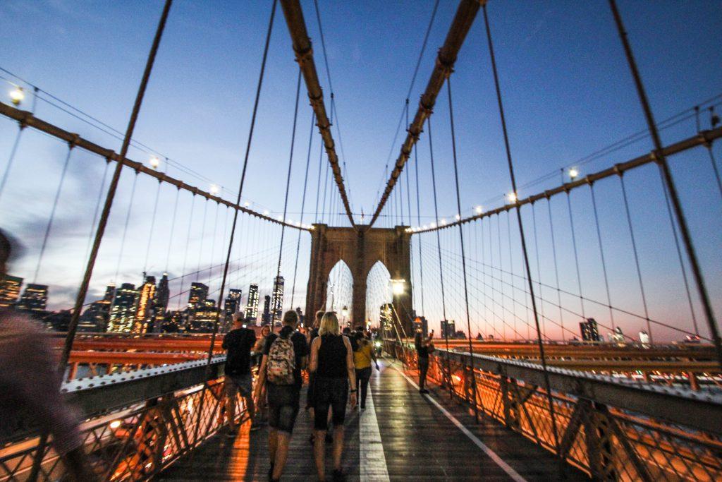 ニューヨークの絶景観光スポット ブルックリン橋