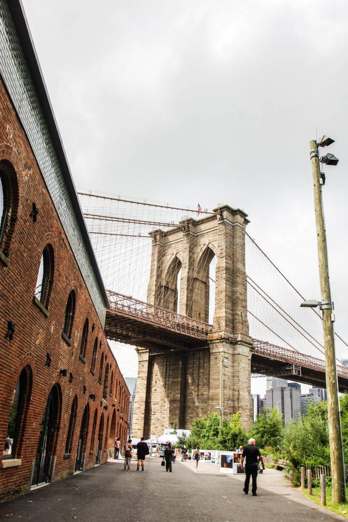 ニューヨークの最新観光スポット ダンボ