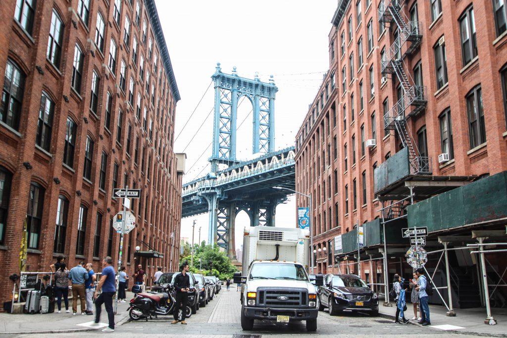 ニューヨーク 最新人気スポット DUMBO
