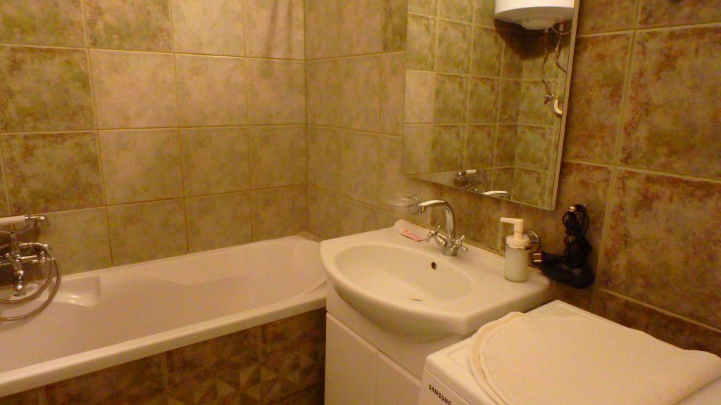 ブダペスト ホテル アパート バスルーム