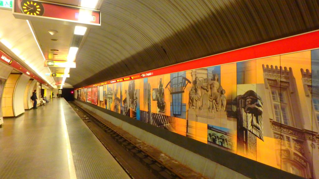 ハンガリー ブダペスト メトロ
