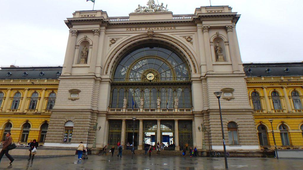 ブダペスト東駅 Keleti pályaudvar