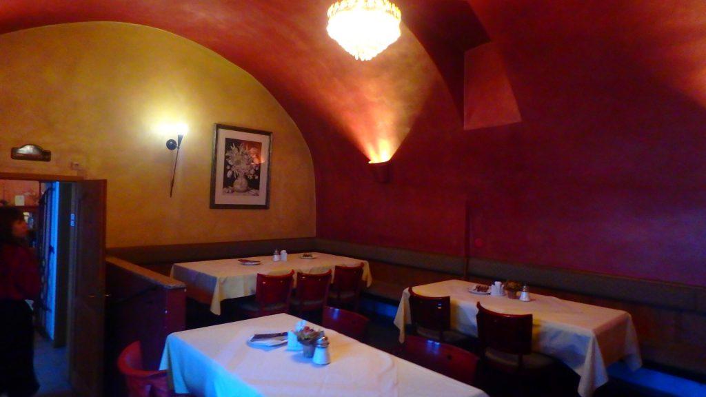チェスキークルムロフ ホテルコンヴィツェのレストラン