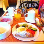 チェスキークルムロフで美味しい朝ごはん♪ホテルKONVICEの朝食
