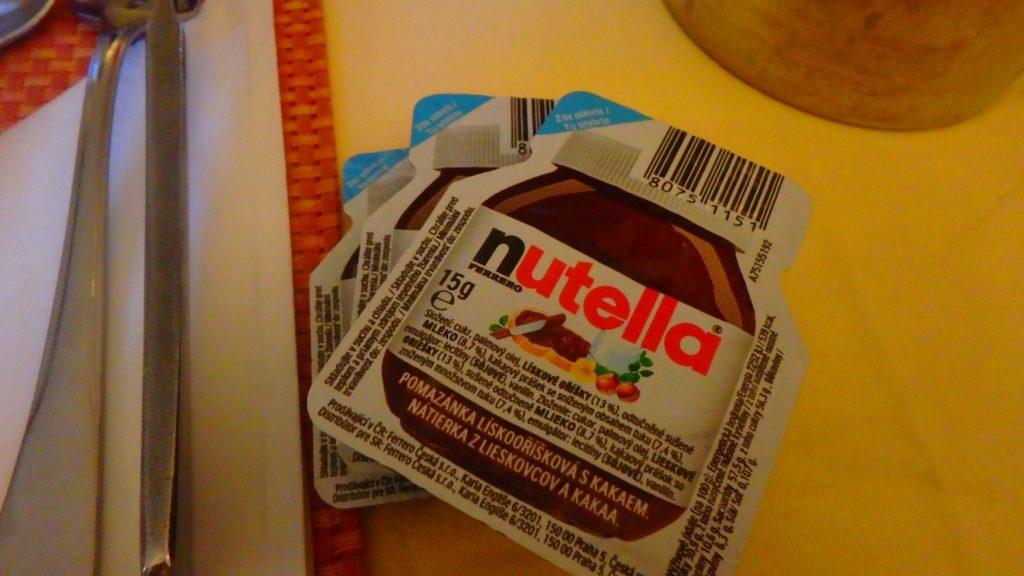 nutella 一回使い切りサイズ