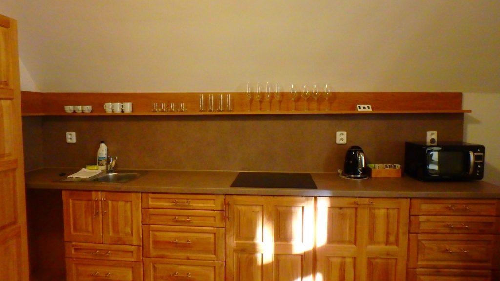 プラハのキッチン付きホテル
