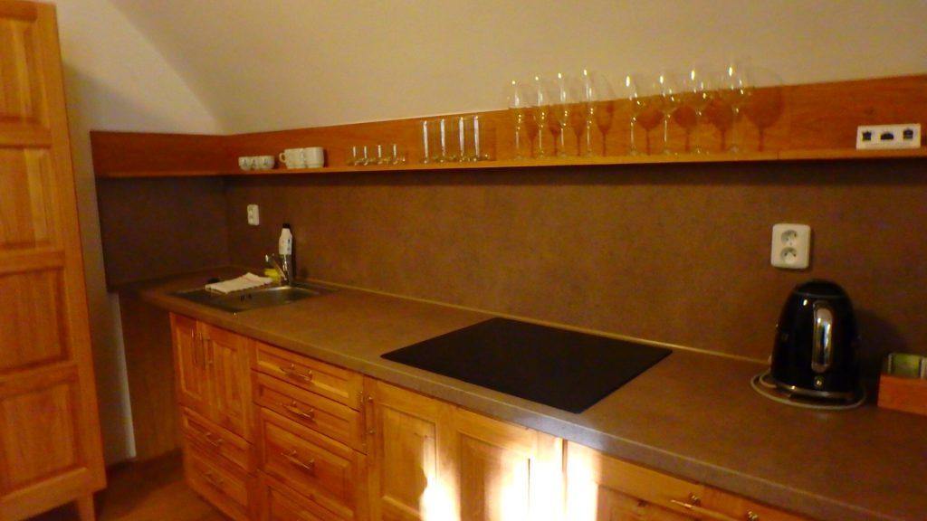 チェコ プラハ キッチン付きホテル