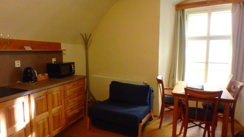 プラハの綺麗なホテル