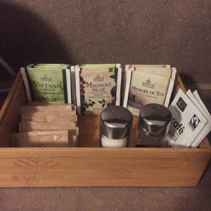 プラハのホテル 紅茶