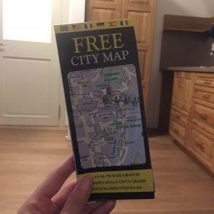 プラハの無料map