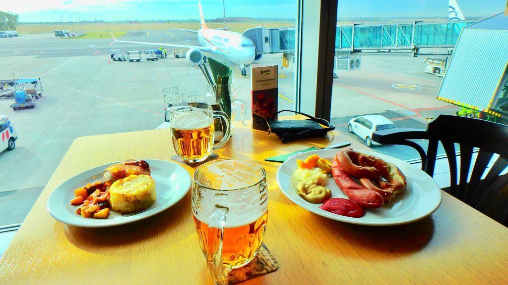 チェコ 空港内のおすすめレストラン