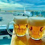プラハ空港内のおすすめレストラン。飛行機を見ながら美味しいチェコ料理