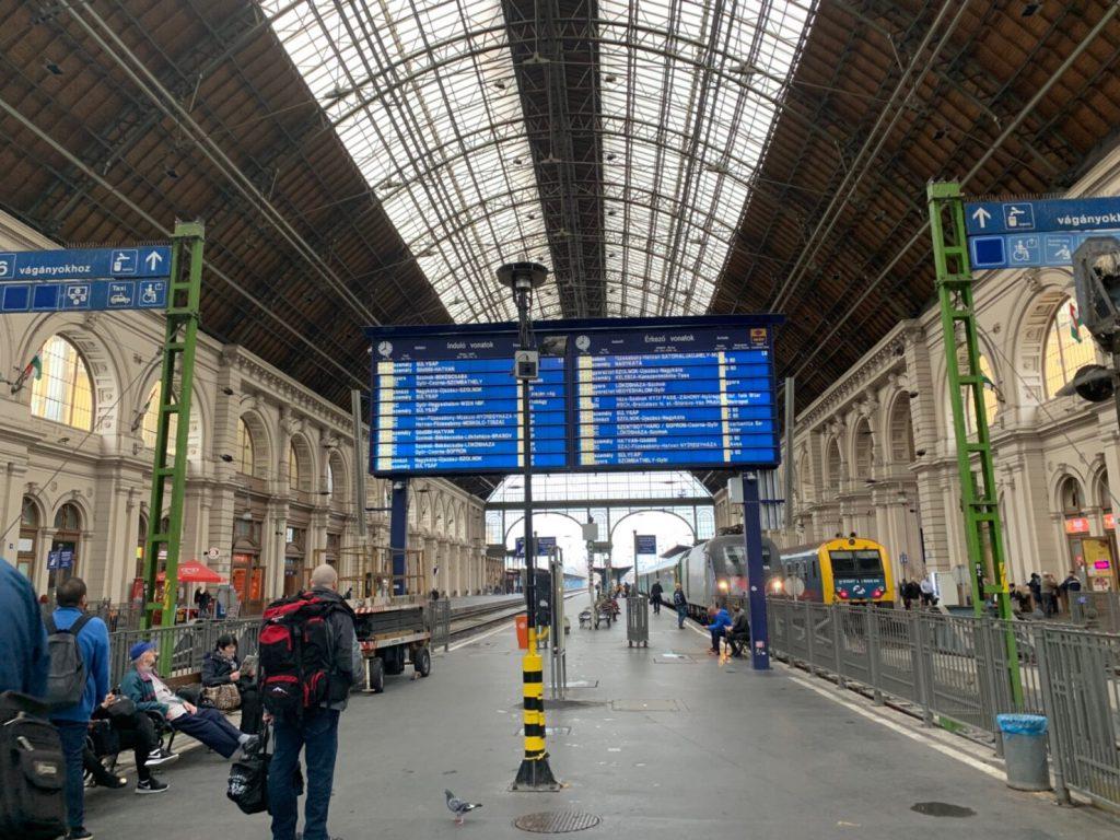 ブダペストからウィーンへ ブログ