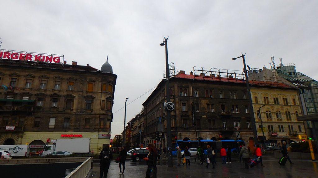 ブダペスト東駅近辺 飲食店