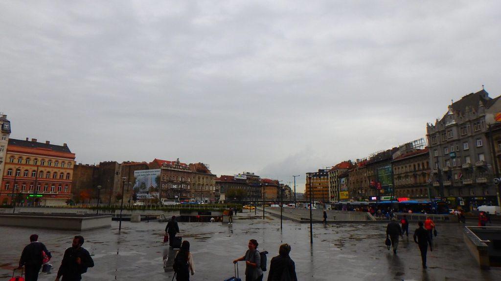 ブダペスト東駅周辺