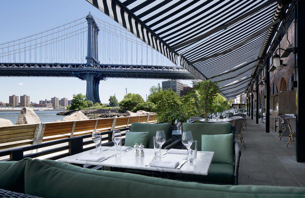 ニューヨーク ブルックリン橋付近のおすすめレストラン