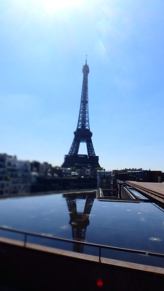 パリ ケ ランブリー美術館 屋上