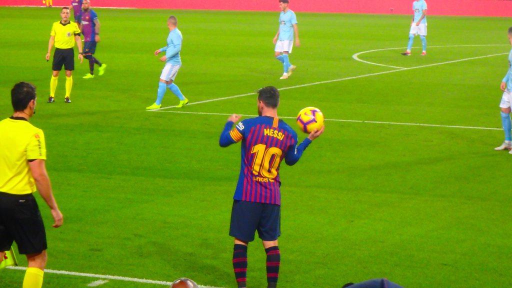 FCバルセロナで観戦 生メッシ
