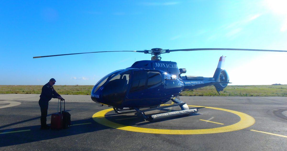 モナコ ヘリコプター