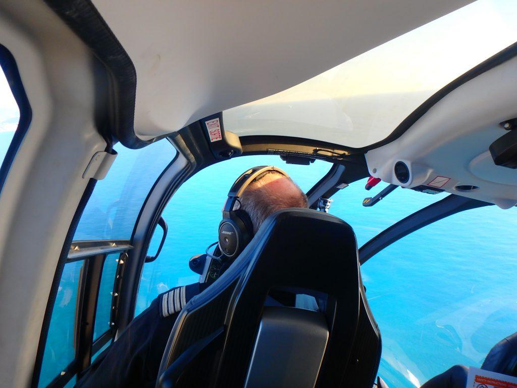地中海 ヘリコプター