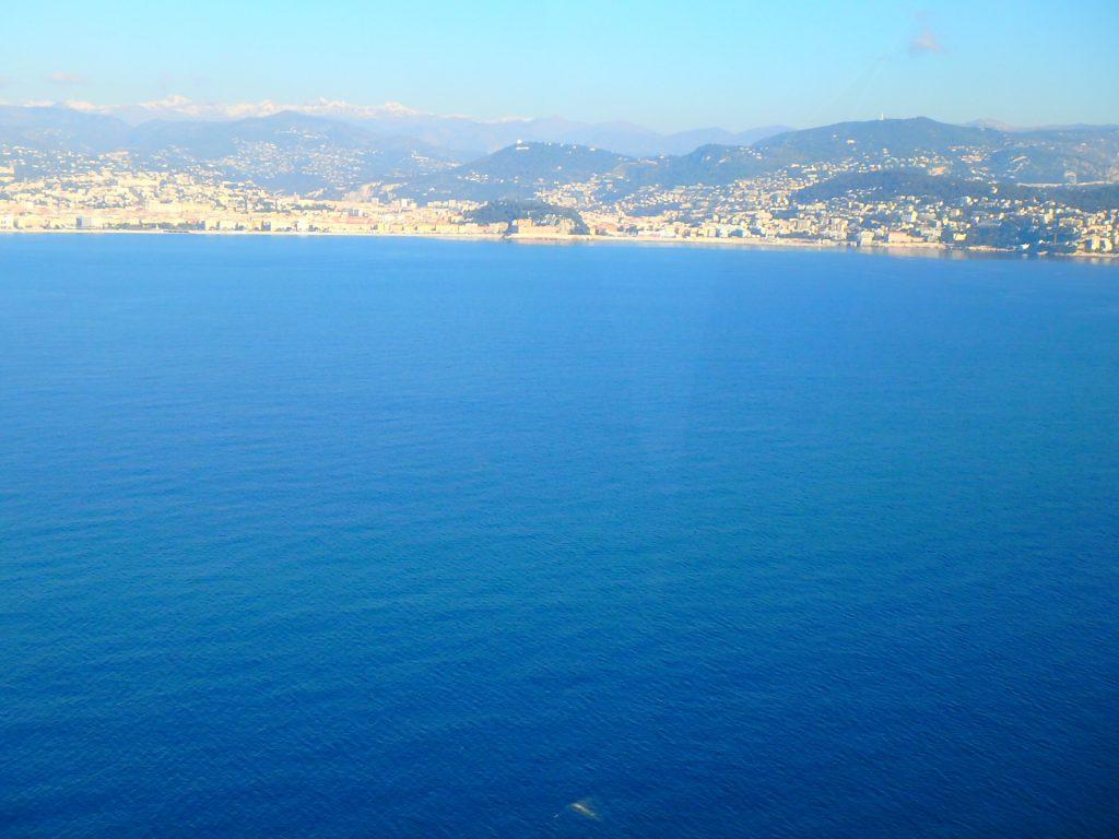 空から見るニース 南フランス