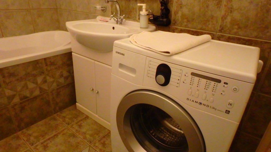 海外 洗濯機付きホテル アパートメント