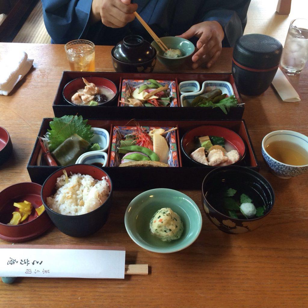 金沢旅行 治部煮 ランチ
