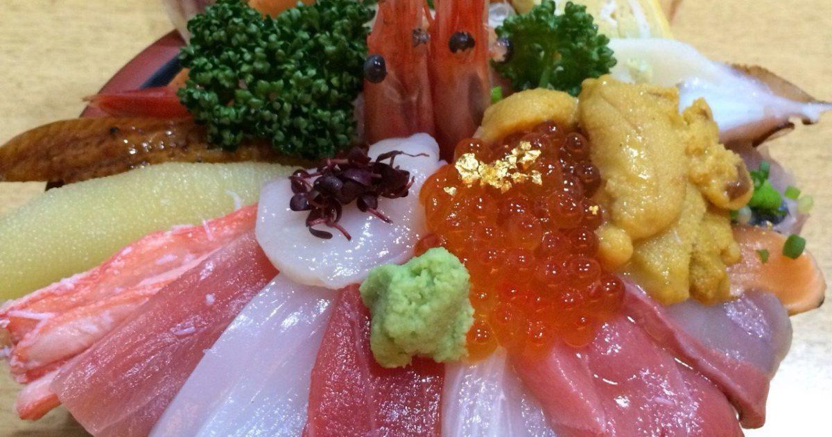 金沢の海鮮丼