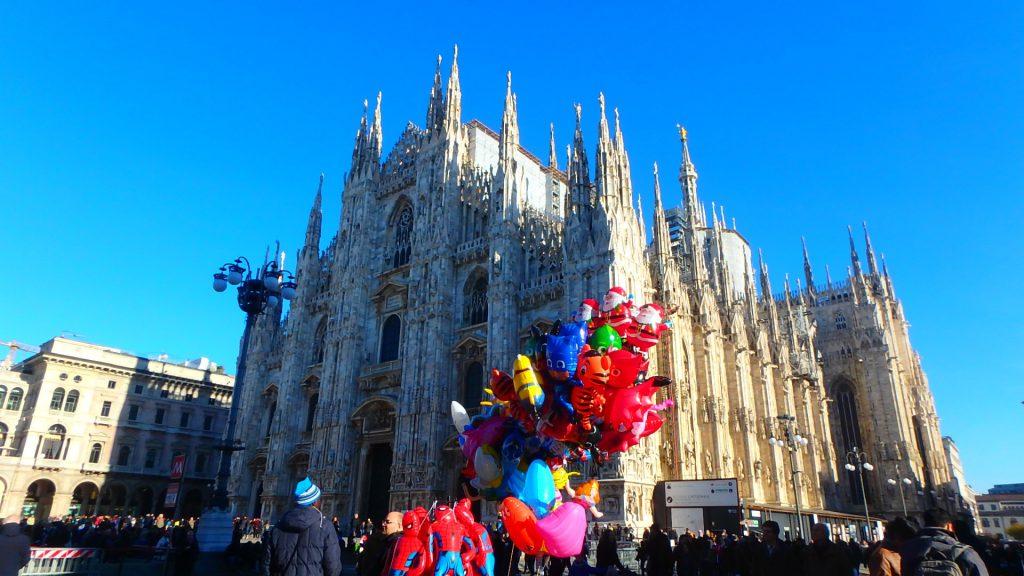 ミラノのドゥオモ ブログ 旅行記