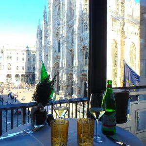 ミラノの絶景レストラン ドゥオモ