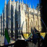 【ミラノ】ドゥオモが見える絶景シーフードレストラン。リゾットが美味しい