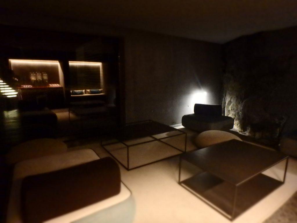アイスランド ブルーラグーン リトリートスパの休憩室