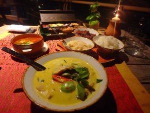モルディブのタイ料理レストラン