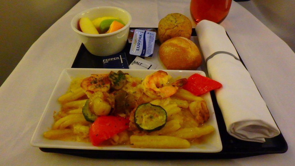 ANAビジネスクラス 機内食 ヨーロッパ便