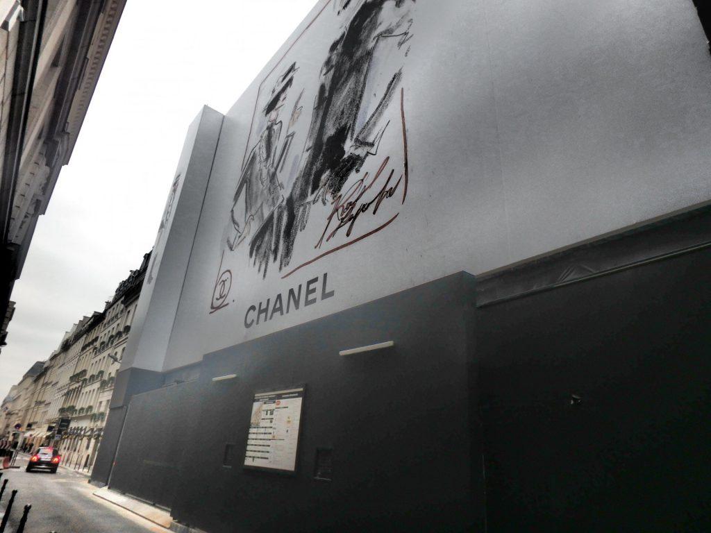パリのシャネルで買い物 ブログ