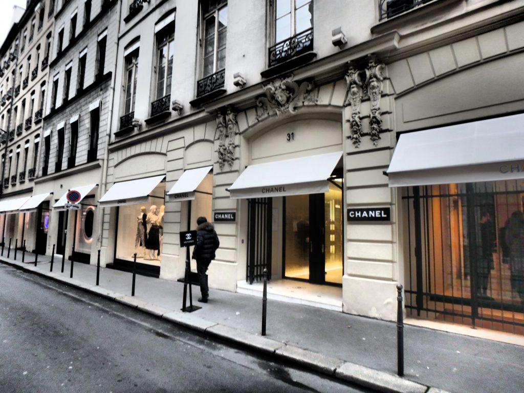 パリのCHANEL本店