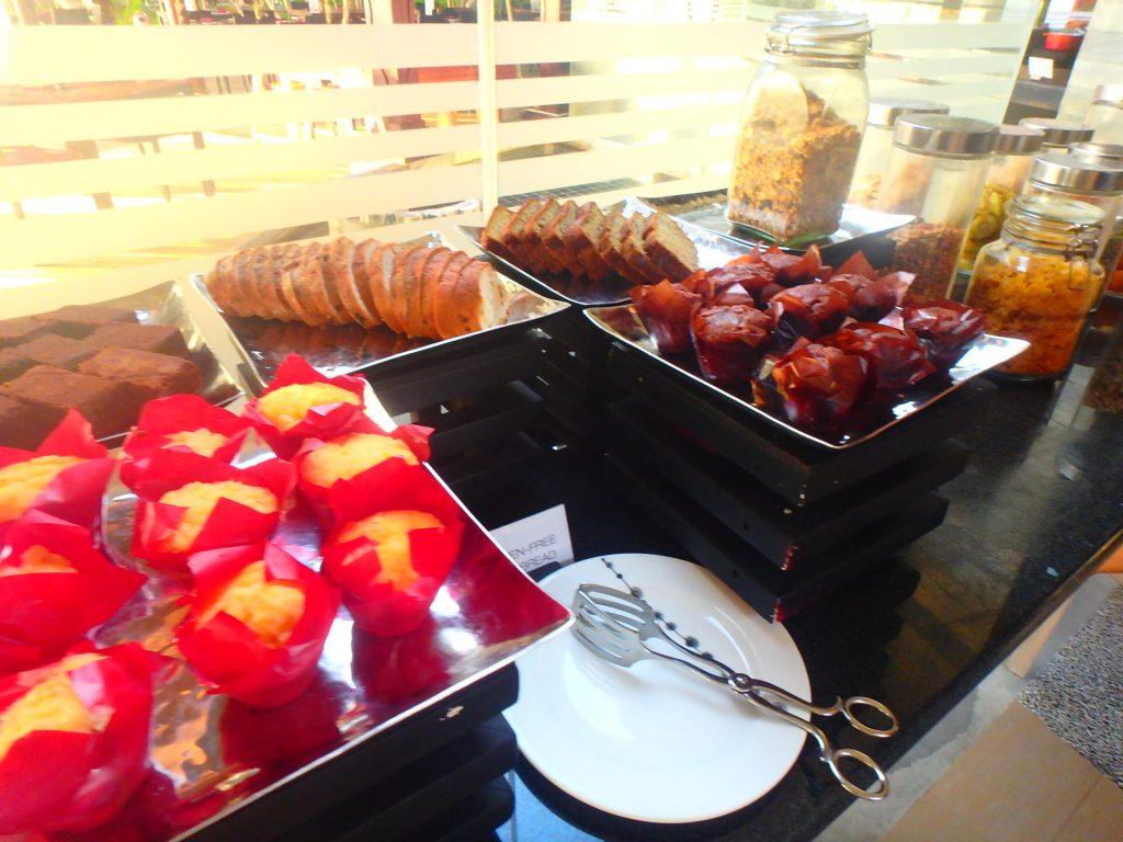 アナンタラディグの朝食メニュー