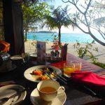 アナンタラディグの朝食ビュッフェ。モルディブ旅行記ブログ〜フシカフェ