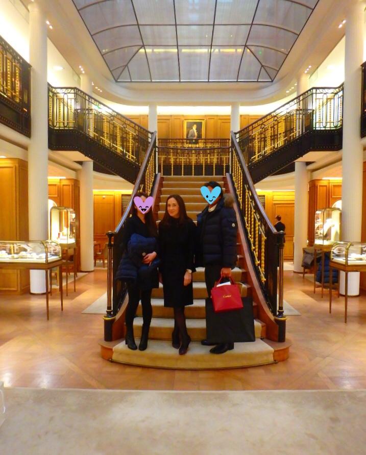 パリのカルティエ本店 ブログ