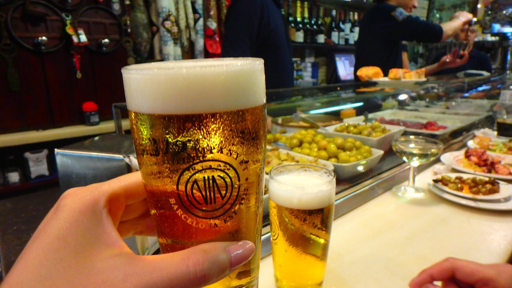 バルセロナ バル 美味しい ブログ