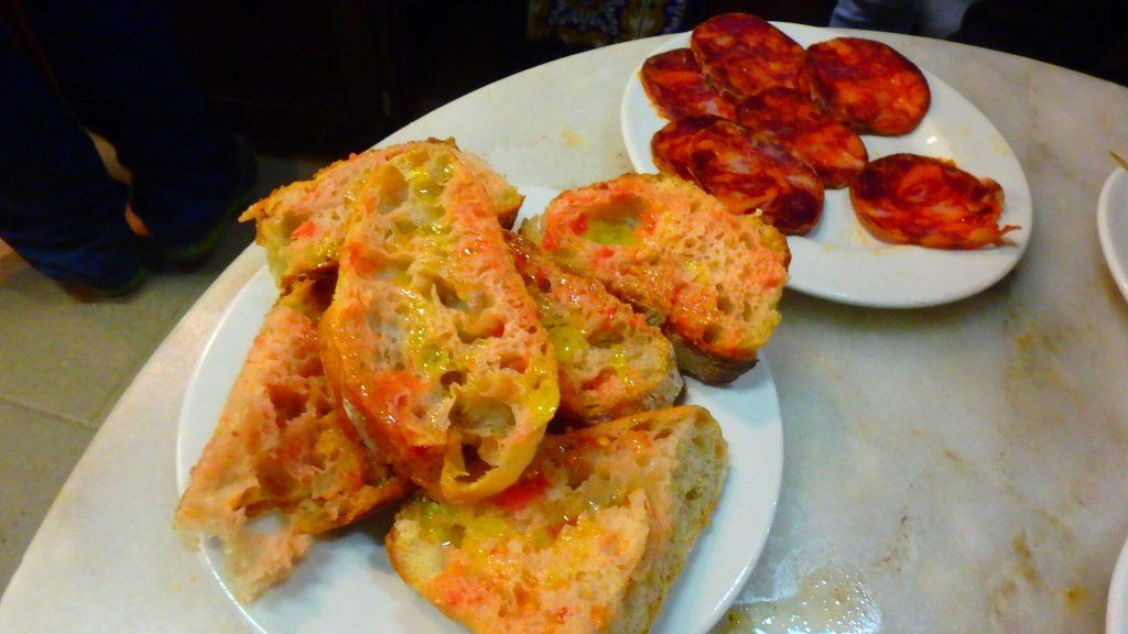 バルセロナ 安くて美味しいバル ブログ パン
