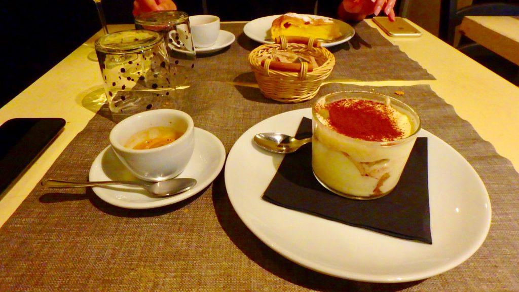 ミラノ 美味しいティラミス
