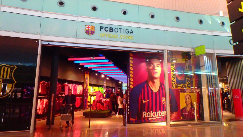 空港 FCバルセロナ バルサ お土産