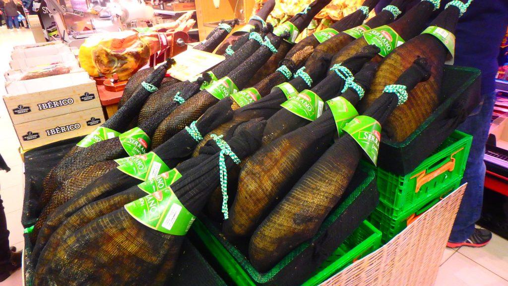 スペインのスーパー 食材