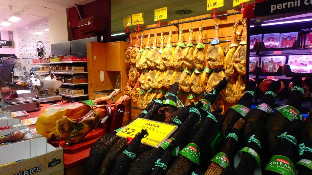 バルセロナのスーパー 食材