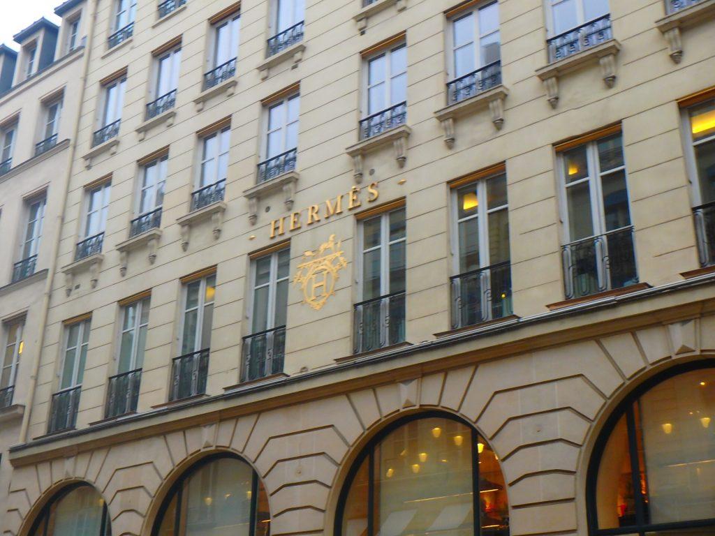Hermès パリ本店